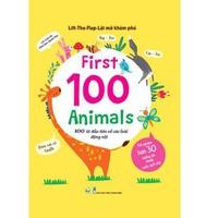 Lift-The-Flap Lật Mở Khám Phá: First 100 Animals - 100 Từ Đầu Tiên Về Các Loài Động Vật
