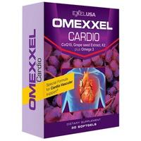 Thực Phẩm Chức Năng Viên Uống Hỗ Trợ Tim Mạch Omexxel Cardio