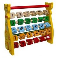 Đồ chơi gỗ Winwintoys 63312 - Chú mèo ABC