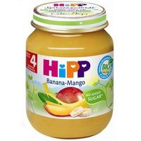 Dinh dưỡng đóng lọ HiPP chuối xoài 125g 4m+