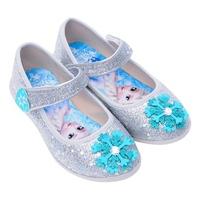 Giày Búp Bê Bé Gái Biti's Nữ Hoàng Băng Giá Frozen DBB005111