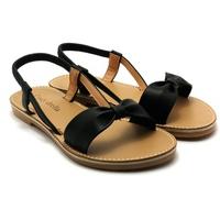 Giày Sandals Nơ Phối Thun Cindydrella C26
