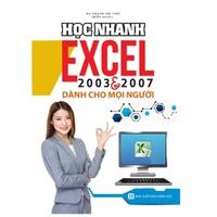Học Nhanh Excel 2003 & 2007 Dành Cho Mọi Người