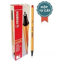 Hop 10 bút lông kim STABILO Point 88