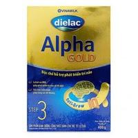 Sữa Dielac Alpha Gold số 3 400g 1-2 tuổi