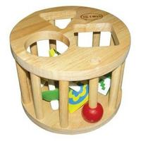 Đồ chơi gỗ Winwintoys 61022 - Lồng Tròn 6 Con Vụ