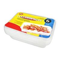 Bộ 6 hộp nhựa Uncle Bills KS0085 500ml