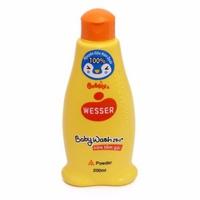 Sữa tắm gội Wesser Hương Phấn (Powder)-Cam