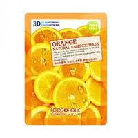 Mặt Nạ Dưỡng Da Mịn Màng 3D Foodaholic Orange Natural Essence Mask 23ml