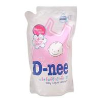 Nước giặt xã quần áo cho bé D-nee Honey Star 600ml (Hồng)