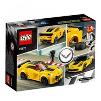 Mô Hình LEGO Speed Champions 75870 Xe Đua Chevrolet Corvette Z06