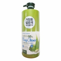 Sữa tắm làm trắng da từ lô hội Organia Good Nature Aloe Vera 95%