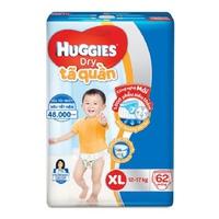 TÃ QUẦN HUGGIES SIZE XL 62 MIẾNG 12 - 17KG