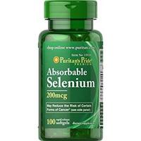 Thực Phẩm Chức Năng Tăng Sức Đề Kháng Puritan's Pride Absorbable Selenium 200mcg