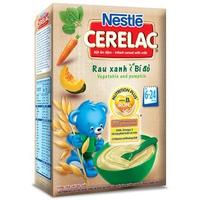 Bột ăn dặm Nestle rau xanh bí đỏ 200g trên 6 tháng