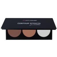 Bảng Phấn Tạo Khối Và Highlight  3 ô City Color Contour Palette 4.5g