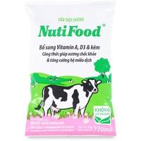 Sữa tiệt trùng Nutifood hương Dâu 220ml