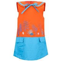 Đầm Bé Gái Thêu Hoa VTA Kids BG70101