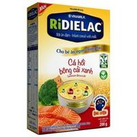 Bột ăn dặm Ridielac cá hồi bông cải xanh 200g (7-24 tháng)