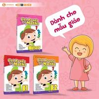 Bộ sách giáo khoa toán Singapore dành cho mẫu giáo