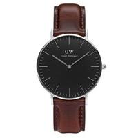 Đồng hồ dây da nữ Daniel Wellington DW00100143
