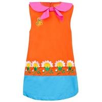 Đầm Thêu Họa Tiết Hoa Cúc VTA Kids BG70105