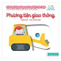 Sách chuyển động thông minh đa anh ngữ Việt-Anh-Pháp - Phương tiện giao thông