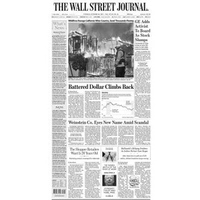Báo giấy The Wall Street Journal