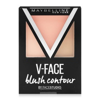 Phấn má hồng tạo khối  Maybelline V-face Blush Contour