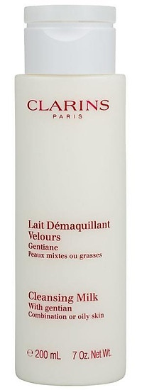 Clarins Cleansing Milk With Gentian Combination/Oily Skin 200ml