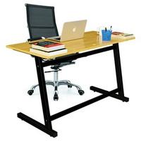 Bộ bàn Rec-Z chân đen và ghế IB16A đen IBIE 120 x 60 x 75 cm