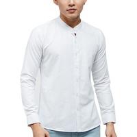 Áo Sơ Mi Nam Tay Dài Cổ Trụ TiTiShop SM488
