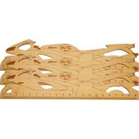 Thước gỗ xe mô tô 200mm