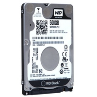 Ổ cứng HDD Western Digital 500GB Black 2.5 WD5000LPLX for Laptop