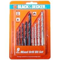 Bộ mũi khoan Black Decker A8106G 9 chi tiết