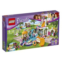 Mô Hình Lego Friends 41313 - Hồ Bơi Mùa Hè Heartlake