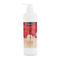Sữa dưỡng thể trắng da hương hoa hồng Geo Perfume Body Lotion Rose Spa 300ml