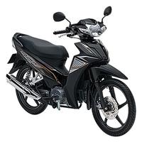 Xe máy Honda Blade phiên bản thể thao (Phanh đĩa, vành đúc)