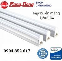 Bộ đèn LED tube liền thân T5 Rạng Đông 16W 120cm ChipLED SAMSUNG LT03