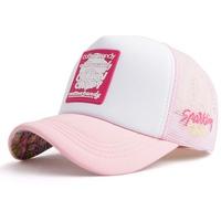 Nón Lưới Premier Cotton Candy 4 Logo