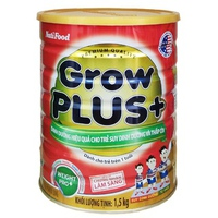 Sữa Nutifood Grow Plus+ 1.5kg trên 1 tuổi cho trẻ thấp còi