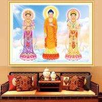 Tranh đính đá Phật