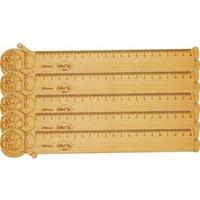 Thước gỗ Doremon 200mm