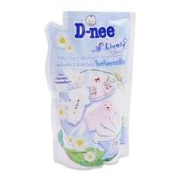 Nước giặt xã quần áo Dnee Happy Family 600ml (trắng)