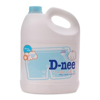 Nước giặt xả quần áo trẻ em D-nee Lovely Sky 3000ml (xanh)