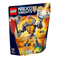 Mô Hình Lego Nexo Knights 70365 - Chiến Giáp Axl