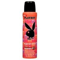 Xịt Khử Mùi Toàn Thân Cho Nữ Playboy Generation 150ml