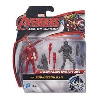 Mô hình nhân vật Avengers - Iron Man Mark và Sub Ultron 010 B4640/B0423