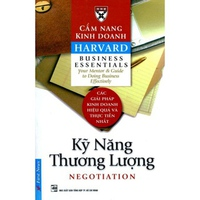 Cẩm Nang Kinh Doanh - Kỹ Năng Thương Lượng