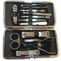 Bộ dụng cụ chăm sóc móng tay 12 món CT383 (Bạc)